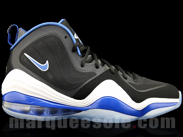 "best service a1adf 16547 Nike Penny V ""Orlando"" Black White-Game Royal 11 2012"