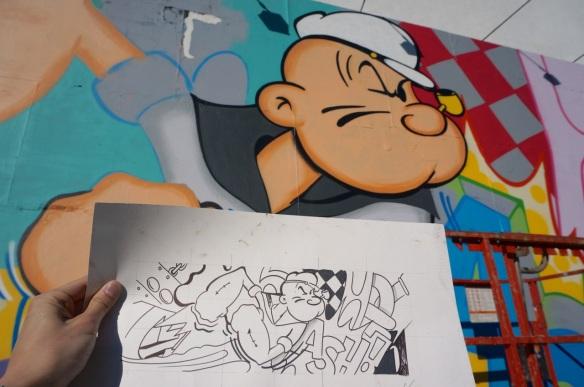 Crash - Bowery & Houston Mural