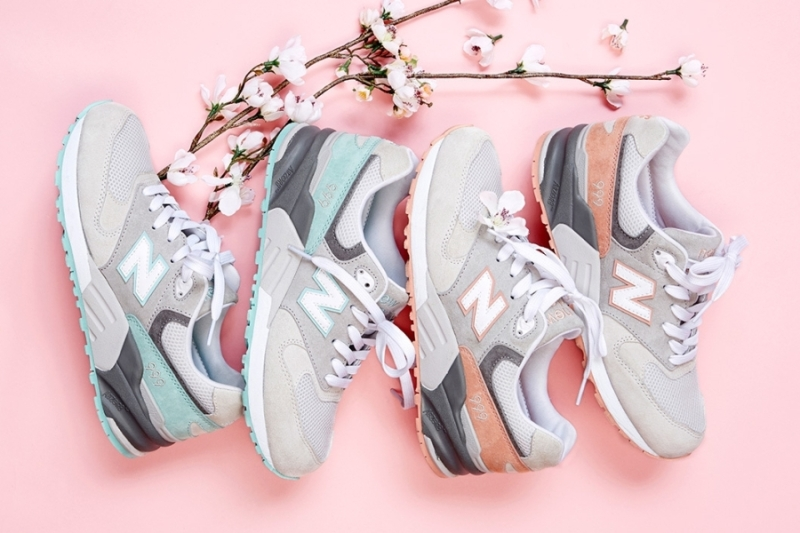 """SNEAKERS: New Balance 999 """"Cherry Blossom"""" Pack 